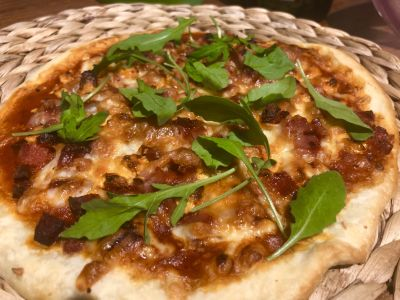 Pizza de La Gran Vetusta